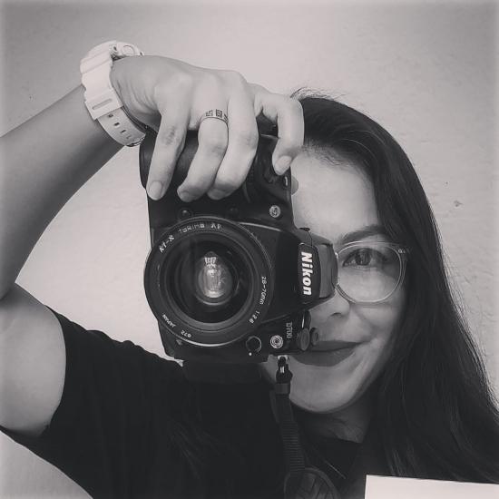 Blogger Nathaly  Chinchilla - Fotógrafa.